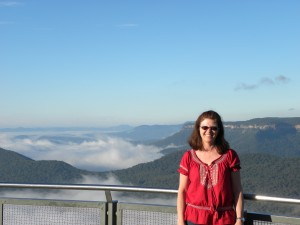 Wendy in the Blue Mountains, Australia
