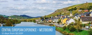 12 Day Central Europe Experience starting at just $2529 per person including air.