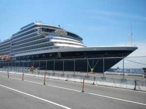 Mid sized cruise ship