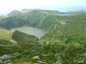 azores view of lakes